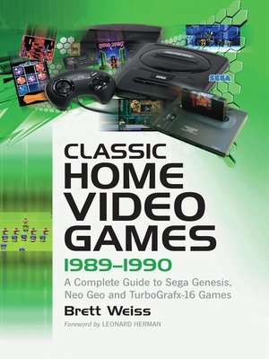 cover image of Classic Home Video Games, 1989-1990