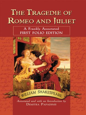 cover image of The Tragedie of Romeo and Juliet