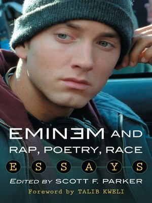 cover image of Eminem and Rap, Poetry, Race