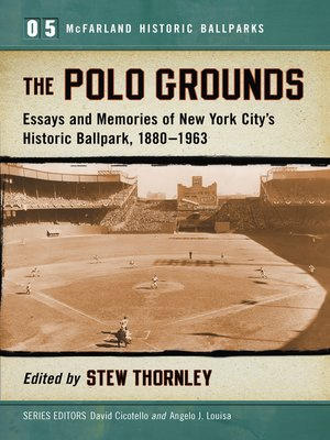 cover image of The Polo Grounds