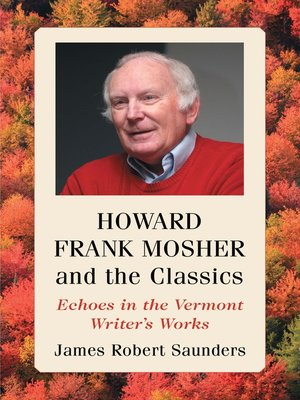 cover image of Howard Frank Mosher and the Classics