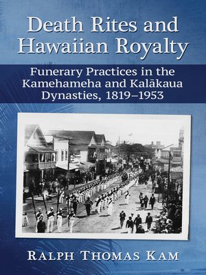 cover image of Death Rites and Hawaiian Royalty
