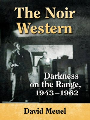 cover image of The Noir Western