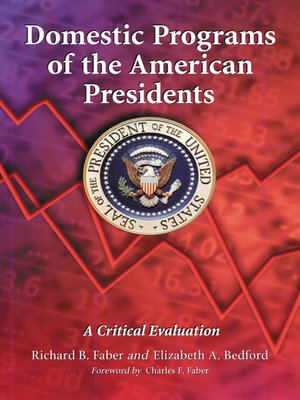 cover image of Domestic Programs of the American Presidents