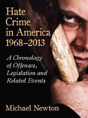 hate crime and the punishment of a hate crime in the united states of america Racism & hate crimes in america blacks were introduced to american soil during the 17th and 18th centuries via the triangular trade route, and were welcomed by whips, chains, shackles, and all the horrors of slavery.