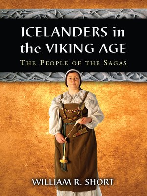 cover image of Icelanders in the Viking Age