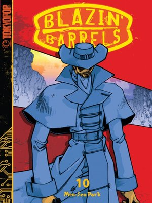cover image of Blazin' Barrels, Volume 10