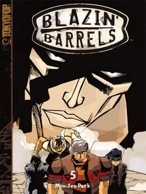 cover image of Blazin' Barrels, Volume 5