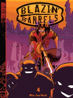 cover image of Blazin' Barrels, Volume 4