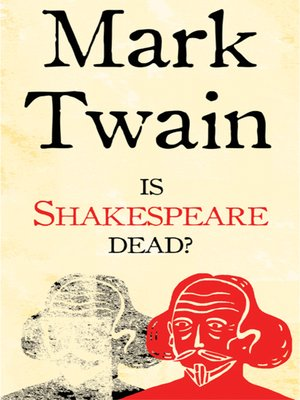 cover image of Is Shakespeare Dead?