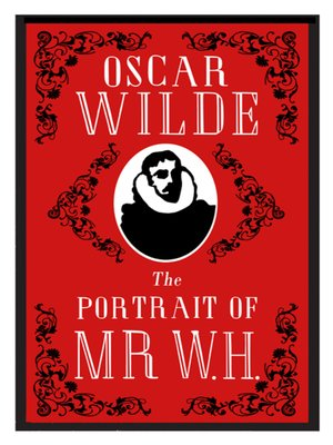 cover image of The Portrait of Mr W.H.