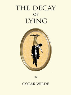 cover image of The Decay of Lying