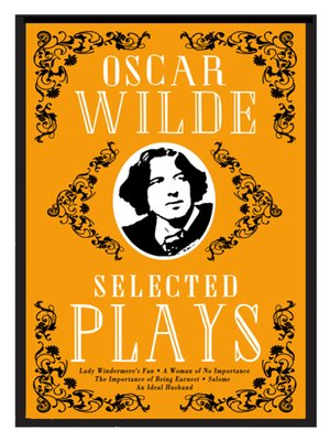cover image of Selected Plays