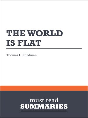 cover image of The World is Flat - by Thomas L. Friedman