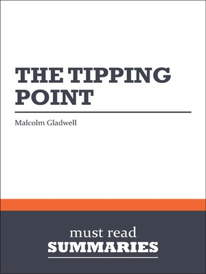 cover image of The Tipping Point - Malcolm Gladwell