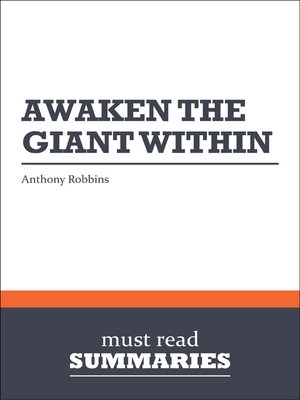 cover image of Awaken the Giant Within - Anthony Robbins