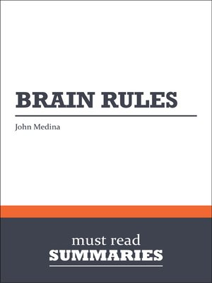cover image of Brain Rules - John Medina