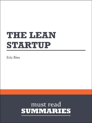 cover image of The Lean Startup - Eric Ries