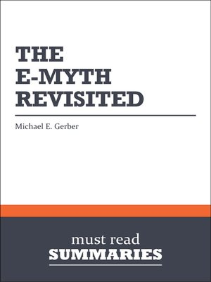 cover image of The E-Myth Revisited - Michael E. Gerber