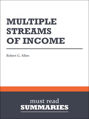 cover image of Multiple Streams of Income - Robert G. Allen
