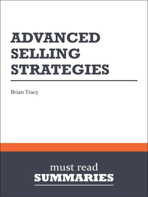 cover image of Advanced Selling Strategies - Brian Tracy
