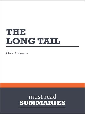 cover image of The Long Tail - Chris Anderson