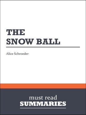 the snowball warren buffett and the business of life epub