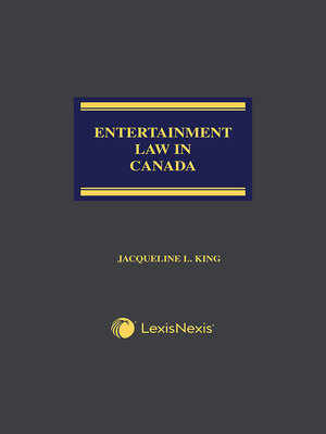 cover image of Entertainment Law in Canada