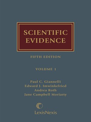 cover image of Scientific Evidence