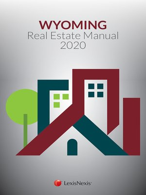 cover image of Wyoming Real Estate Manual