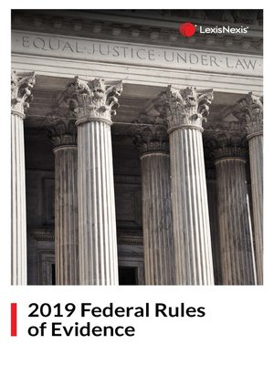 cover image of Federal Rules of Evidence