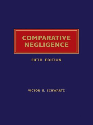 cover image of Comparative Negligence