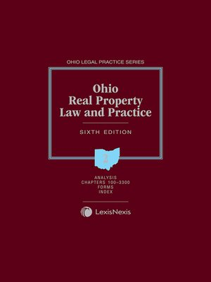 cover image of Ohio Real Property Law and Practice