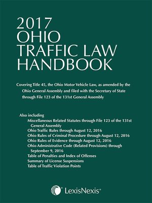 Ohio Ovi Penalties Chart