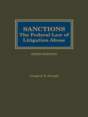 cover image of Sanctions