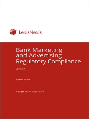 cover image of Bank Marketing and Advertising: Regulatory Compliance