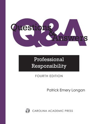 cover image of Questions & Answers: Professional Responsibility