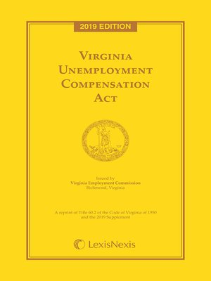 cover image of Virginia Unemployment Compensation Act