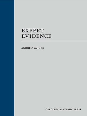 cover image of Expert Evidence