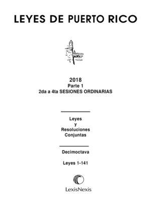 cover image of Leyes De Puerto Rico