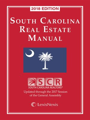 cover image of The Manual of South Carolina Real Estate