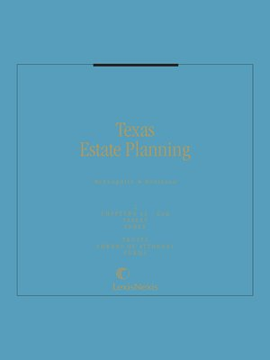 cover image of Texas Estate Planning