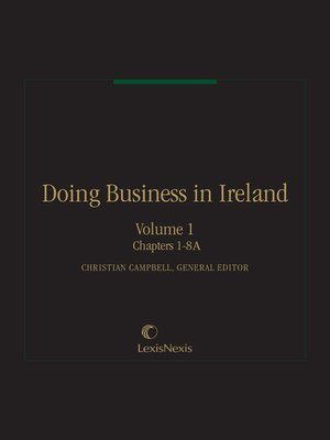 business law irish Essentials of irish business law [aine keenan] on amazoncom free shipping on qualifying offers updateedition of this bestselling introductory textbook on irish business law, which reflects all the major legislative and case law changes since 2008.