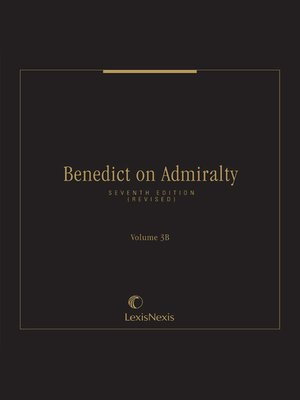 cover image of Benedict on Admiralty