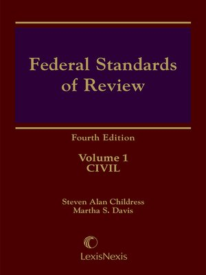 cover image of Federal Standards of Review