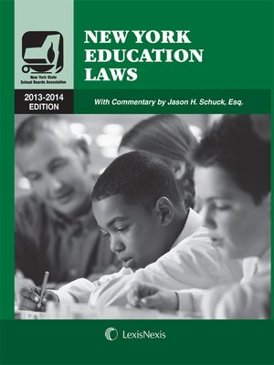 cover image of New York Education Laws