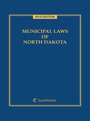 cover image of Municipal Laws of North Dakota
