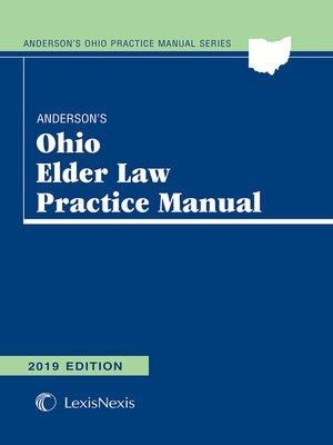 cover image of Anderson's Ohio Elder Law Practice Manual