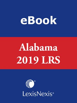 cover image of Michie's Annotated Code of Alabama