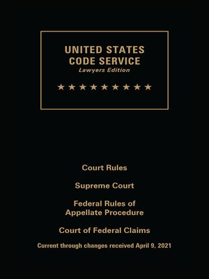 cover image of United States Code Service